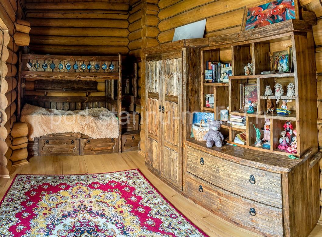 Дом под старину детская