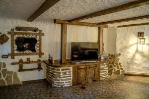 Дом под старину гостиная