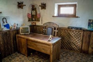 Дом под старину кабинет