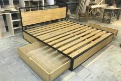 кровать в стиле лофт Лаки 1