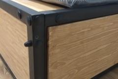 кровать в стиле лофт Лаки 3
