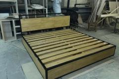 кровать в стиле лофт Лаки 7