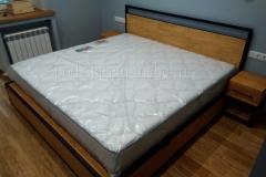 кровать в стиле лофт Лаки 8