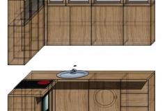 кухня лофт проект 2