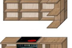 кухня лофт проект 4