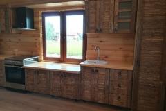 кухня София в стиле под старину 1