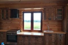 кухня София в стиле под старину 4