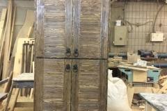 шкаф кухонный под старину 1