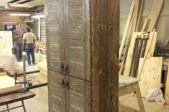 шкаф кухонный под старину 2