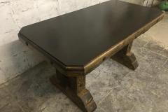 стол из массива дерева под старину Богатырь