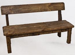 скамья простая деревянная