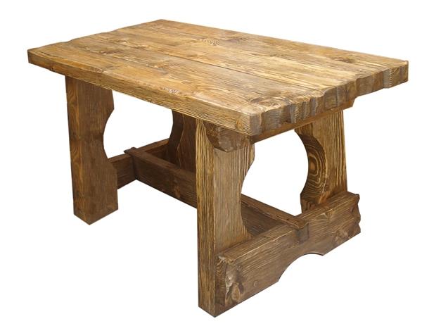 стол в деревенском стиле под старину