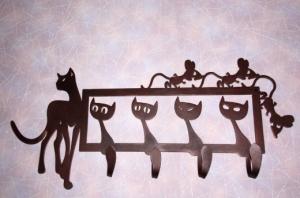 Вешалка Кошки-мышки