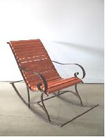 Кресло-качалка (оранжевое дерево)
