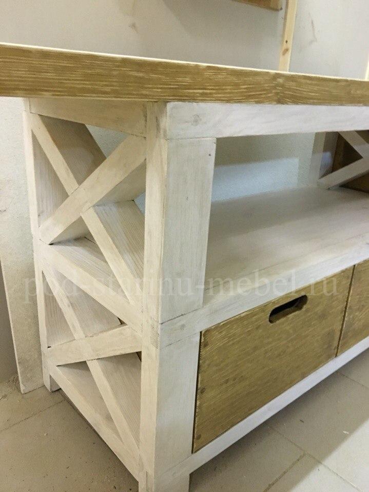 Стол рабочий с ящиками в стиле лофт