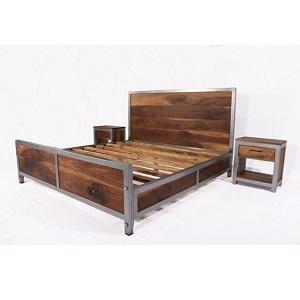 кровать в стиле лофт Стил миниатюра