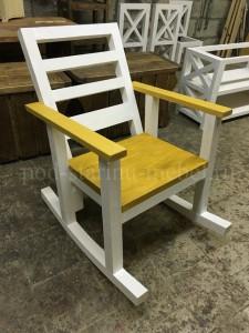 кресло-качалка в стиле лофт