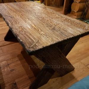 Стол из массива под старину Моряк
