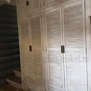 Шкаф Прованс из массива сосны