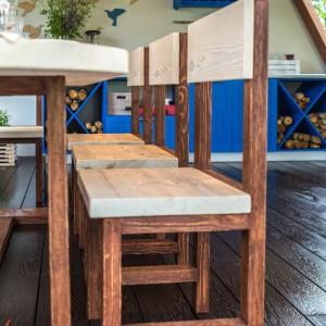 Комплект мебели из массива в стиле лофт Ливерпуль. Совместный проект с Фазендой