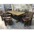 Комплект мебели Князь из массива сосны под старину