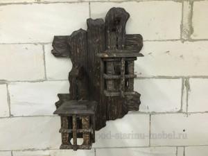 Светильник из массива сосны под старину Есений