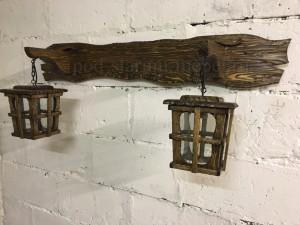 Светильник под старину Ретро двойной