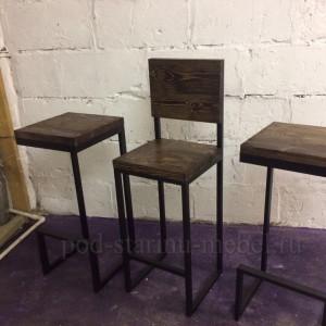 Комплект барной мебели в стиле лофт
