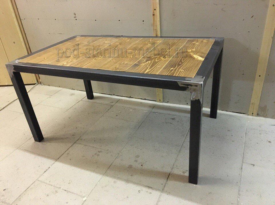 журнальный столик лофт производство наш стиль
