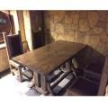 Комплект мебели в ресторан/бар из массива сосны под старину