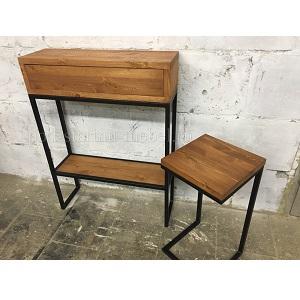 Комплект мебели в прихожую в стиле лофт