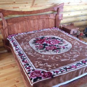 Комплект мебели в спальню из массива сосны под старину