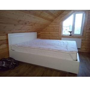 Кровать в стиле прованс из массива сосны