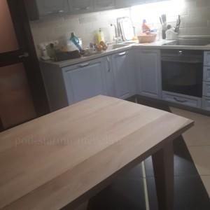 стол из массива дуба