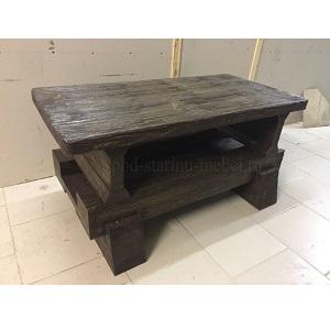 журнальный столик в стиле лофт