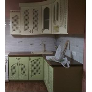 Кухня из массива сосны в стиле прованс