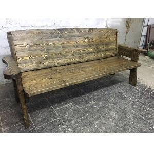 скамья Трапезная под старину