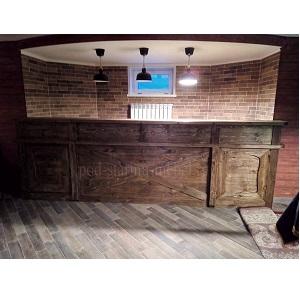 барная стойка под старину из массива сосны