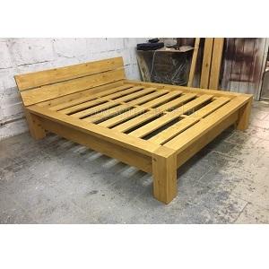 кровать в стиле лофт из массива сосны