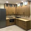 кухня Лофт из массива сосны с фасадами из МДФ
