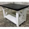 стол журнальный в стиле лофт из массива сосны