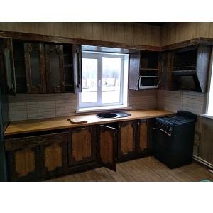 кухня под старину Елена