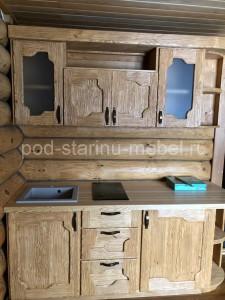 Кухня-под-старину-Деревенская